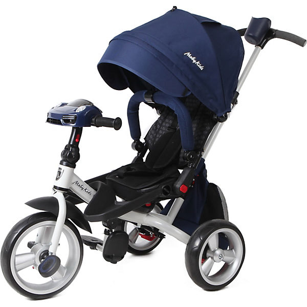 """Трехколесный велосипед Moby Kids """"Leader 360° Air Car"""" 12x10, синий"""