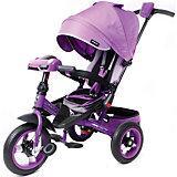 """Трехколесный велосипед Moby Kids """"Leader 360° Air Car"""" 12x10, фиолетовый"""