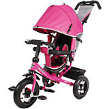 Велосипед Moby Kids3кол. Comfort 12x10 AIR, лилов.