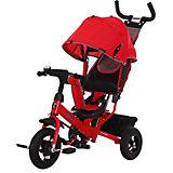 """Трехколесный велосипед Moby Kids """"Comfort Air"""" 10x8, красный"""