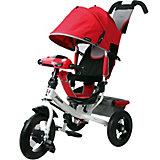 """Трехколесный велосипед Moby Kids """"Comfort Air Car 2"""" 12x10, красный"""