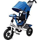 """Трёхколёсный велосипед Moby Kids """"Comfort Air Car 2"""" 12x10, синий"""