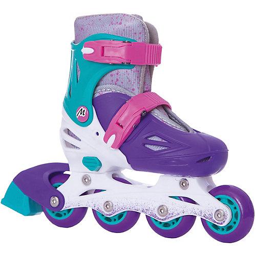 Раздвижные роликовые коньки Moby Kids, фиолетовые от Moby Kids