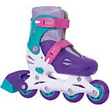 Раздвижные роликовые коньки Moby Kids, фиолетовые