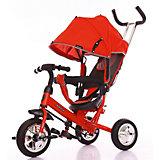 """Трёхколёсный велосипед Moby Kids """"Start"""" 10x8, красный"""