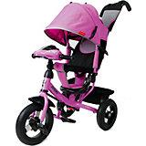 Трехколесный велосипед Moby Kids Comfort 12x10 AIR Car1, фиолетовый
