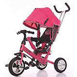 """Трёхколёсный велосипед Moby Kids """"Start"""" 10x8, розовый"""