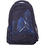 Рюкзак Grizzly, чёрный/синий
