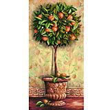 """Картина по номерам Schipper """"Апельсиновое дерево"""" 40х80 см"""