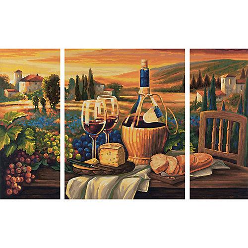 """Картина-триптих по номерам Schipper """"Сладкая жизнь"""" 50х80 см от Schipper"""