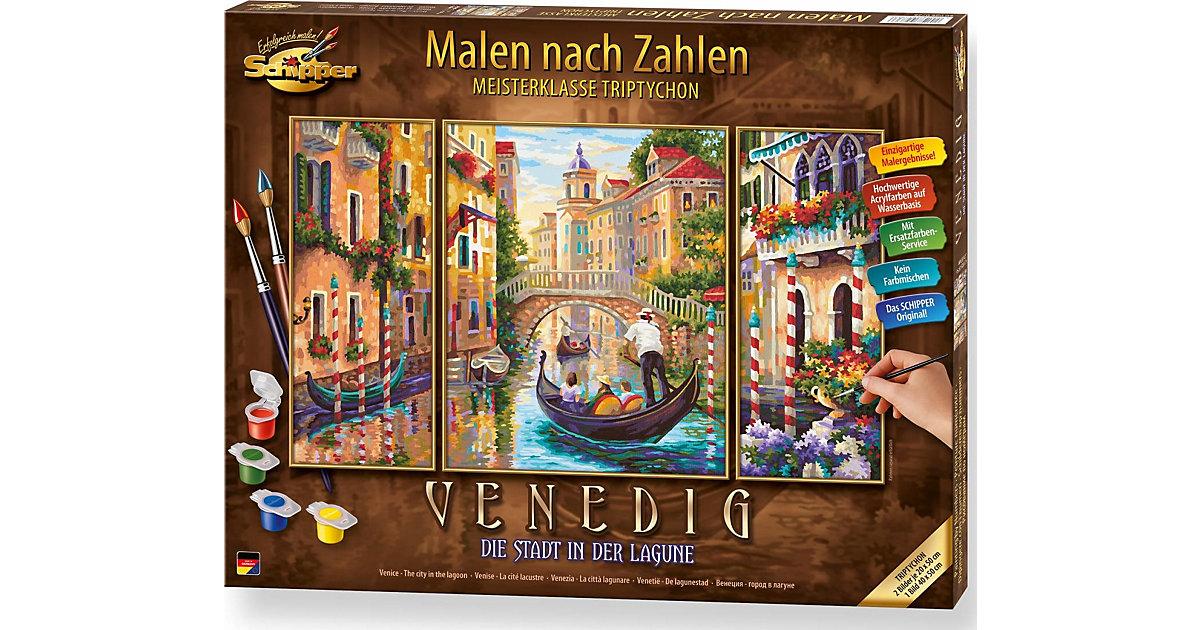 SCHIPPER · Malen nach Zahlen - Venedig Die Stadt in der Lagune Triptychon