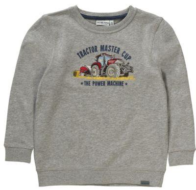 Sweatshirt für Jungen, Traktor, Salt and Pepper