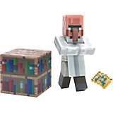 "Фигурка Jazwares ""Minecraft"" Villager Librarian, 8 см"
