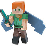 "Фигурка Jazwares ""Minecraft"" Alex with Elytra Wings, 8 см"