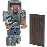 """Фигурка Jazwares """"Minecraft"""" Steve in Chain Armor, 8 см"""