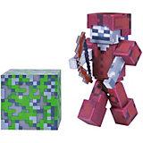 Игровая фигурка Jazwares Minecraft Skeleton in Leather Armor,  8 см