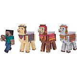 "Набор фигурок Jazwares ""Minecraft"" Steve with Llama caravan, 8 см"