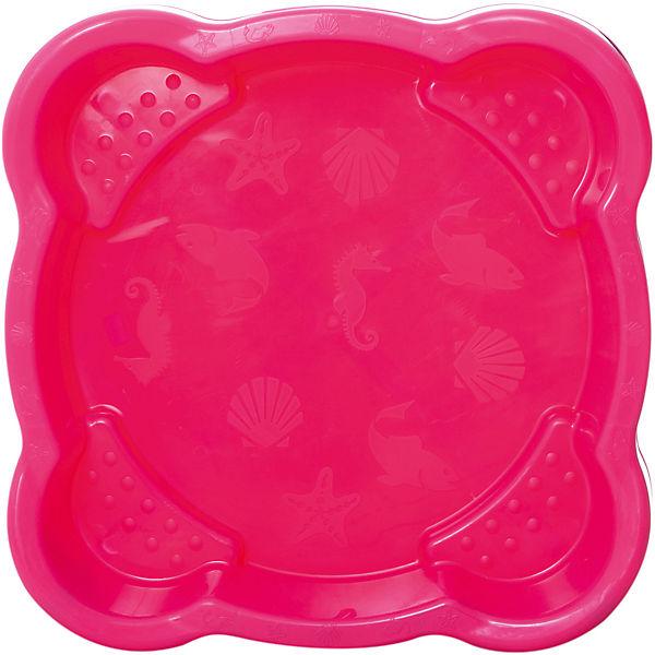 Песочница квадратная  PalPlay, розовая