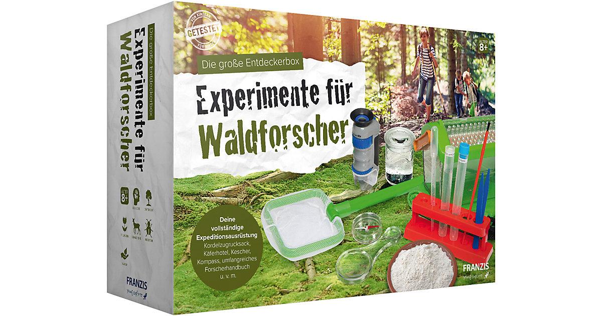 Franzis - Die große Entdeckerbox - Experimente Waldforscher Kinder