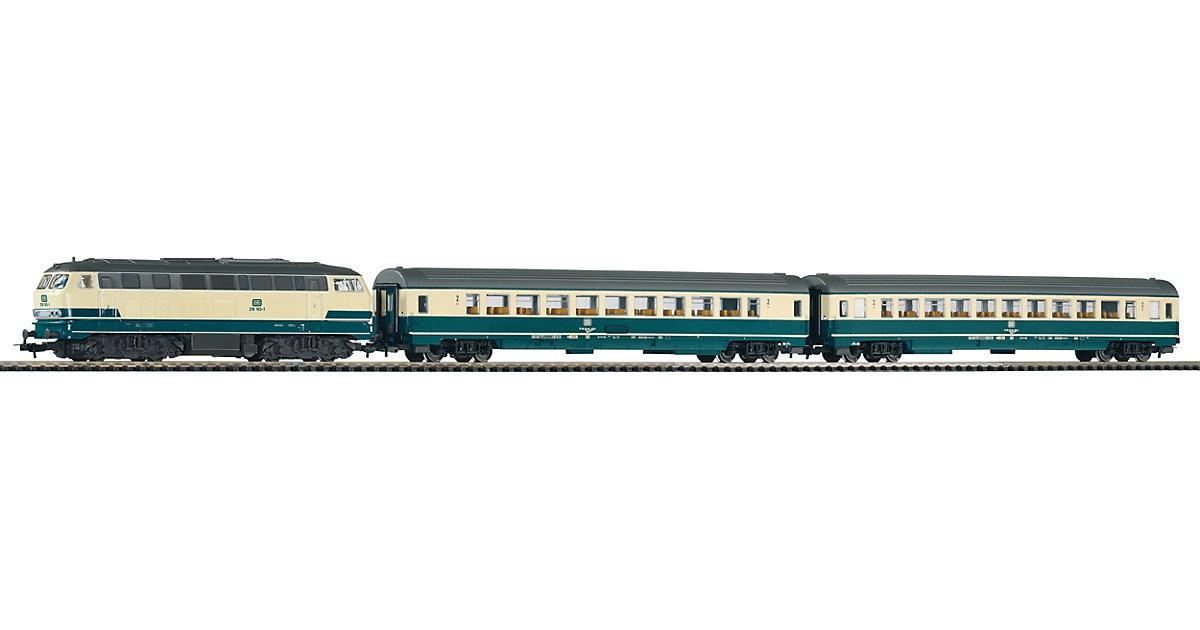 H0 PIKO SmartControl light Set Personenzug BR 218 mit 2 Personenwagen