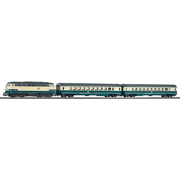 H0 PIKO SmartControl light Set Personenzug Personenzug Set BR 218 mit 2 Personenwagen, PIKO 53d374