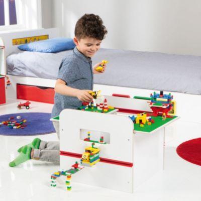 Spielzeugkiste Room2Build weiß