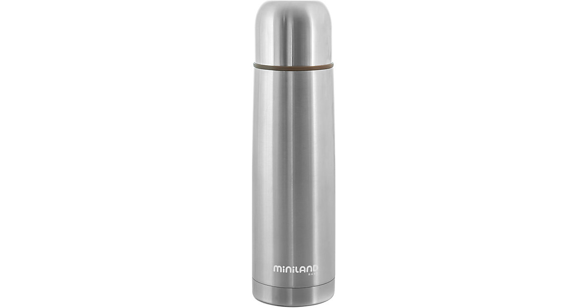 Miniland · Thermoflasche Silky Thermos, 500 ml, silber