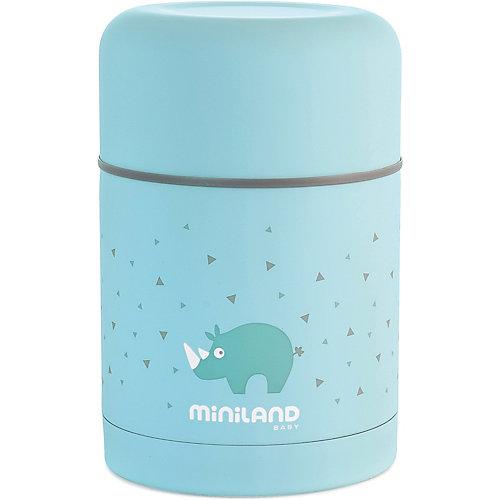 Термос Miniland Silky Thermos 600 мл, голубой - синий от Miniland