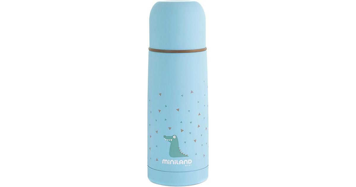 Miniland · Thermoflasche Silky Thermos, 350 ml, blau
