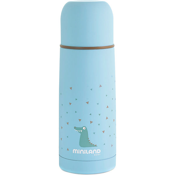 Thermoflasche Silky Thermo, 350 ml, blau