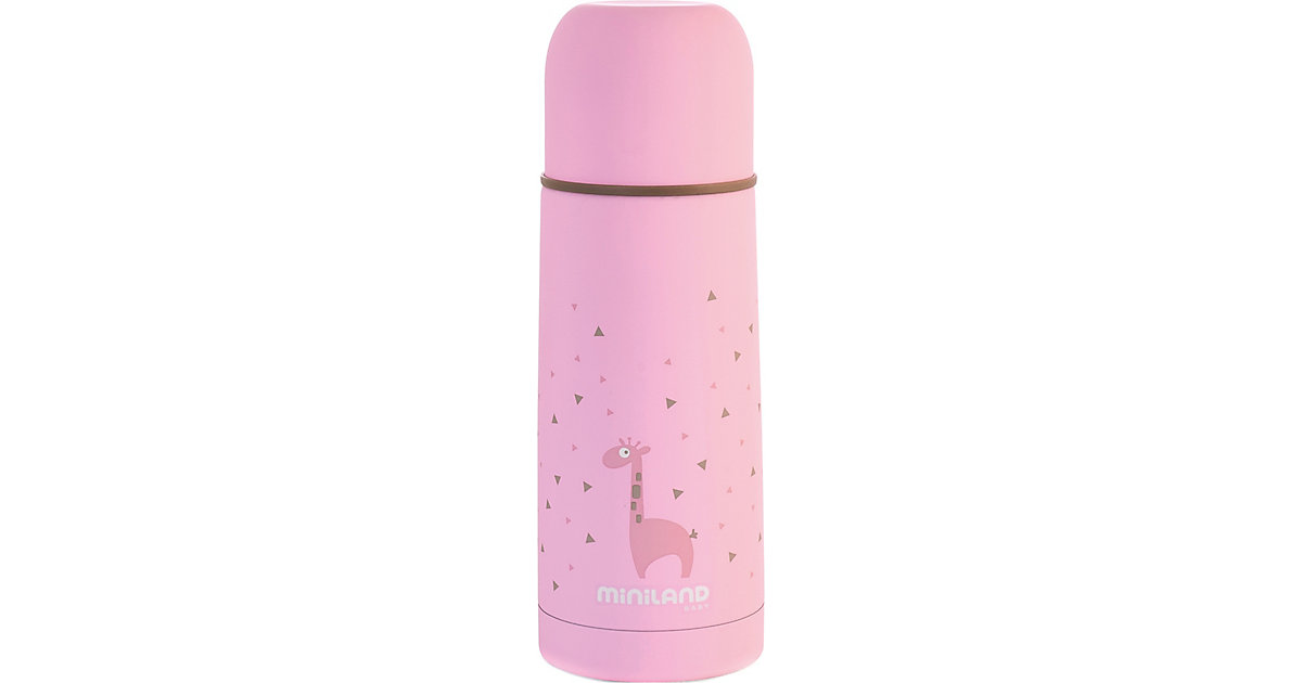 Miniland · Thermoflasche Silky Thermos, 350 ml, pink