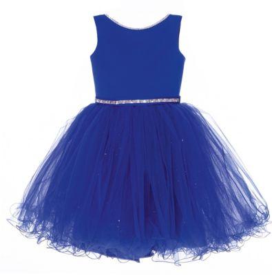 Платье Престиж для девочки - синий