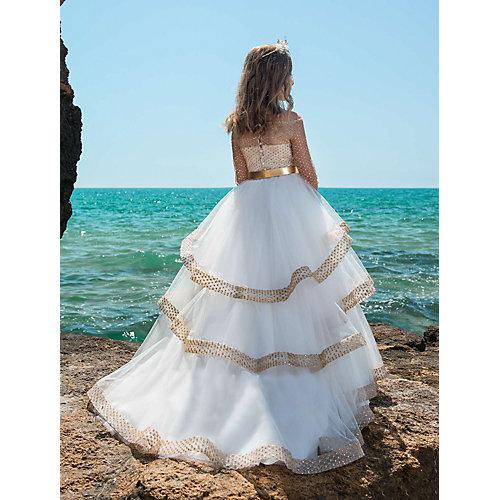 Нарядное платье Престиж - бежевый от Престиж