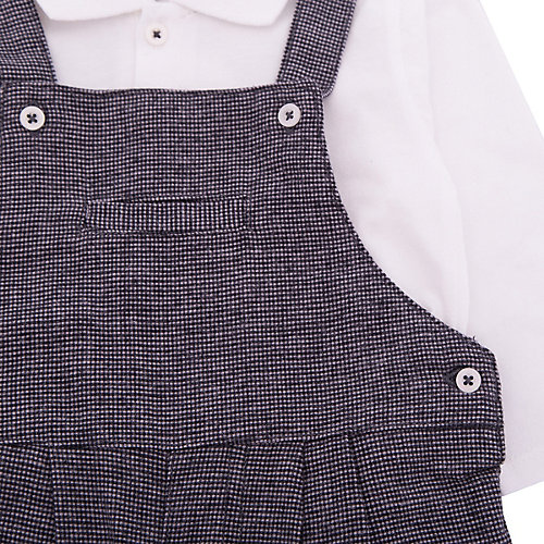 Комплект Absorba: рубашка, полукомбинезон - серый от absorba
