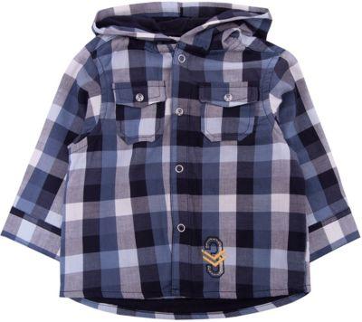 Рубашка 3pommes для мальчика - синий