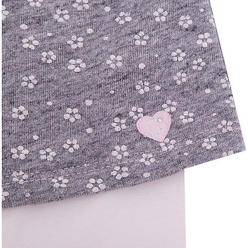Комплект 3 Рommes: юбка, леггинсы - серый от 3 Pommes