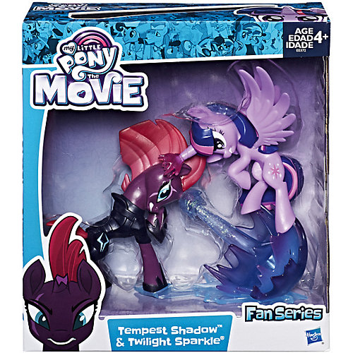 Коллекционная фигурка My Little Pony Буря и Искорка от Hasbro