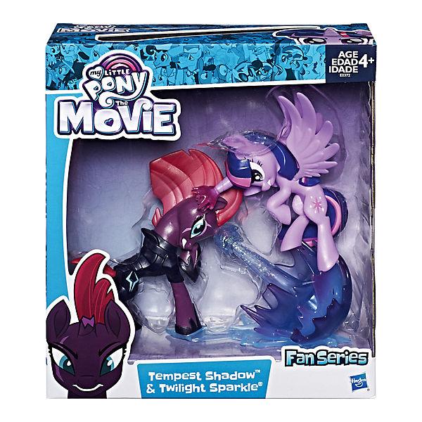 Коллекционная фигурка My Little Pony Буря и Искорка