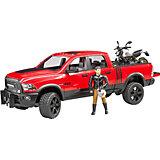Игровой набор Bruder Внедорожник Ram с мотоциклом Ducati, 1:16