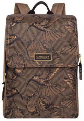 Рюкзак Grizzly, бежевый