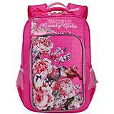 Рюкзак школьный Grizzly, фуксия
