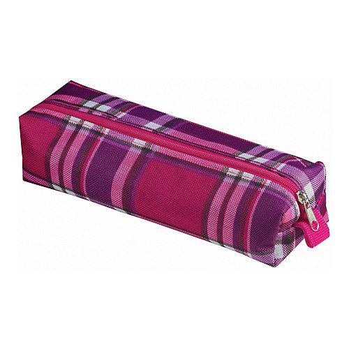 """Пенал-косметичка Brauberg """"Шотландия"""", фиолетовый с розовым от Brauberg"""
