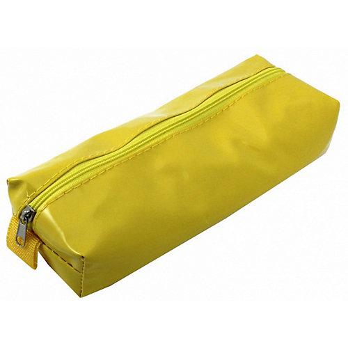 """Пенал-косметичка Brauberg """"Блеск"""", желтый - желтый от Brauberg"""