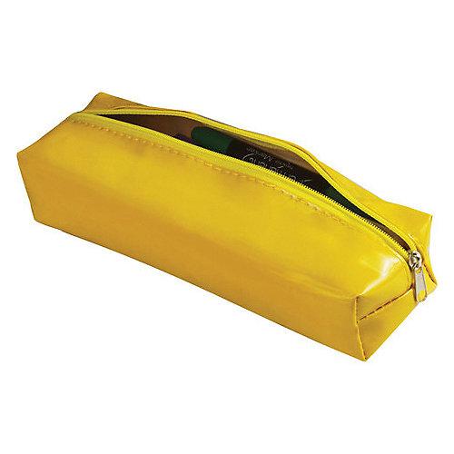 """Пенал-косметичка Brauberg """"Блеск"""", желтый от Brauberg"""