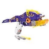 """Пистолет-робот 2 в 1 Devik Toys """"Трицераптос"""", с 6 мягкими патронами"""