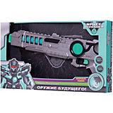"""Космический пистолет Devik Toys """"Space Defender"""" с музыкой и светом, 41 см"""