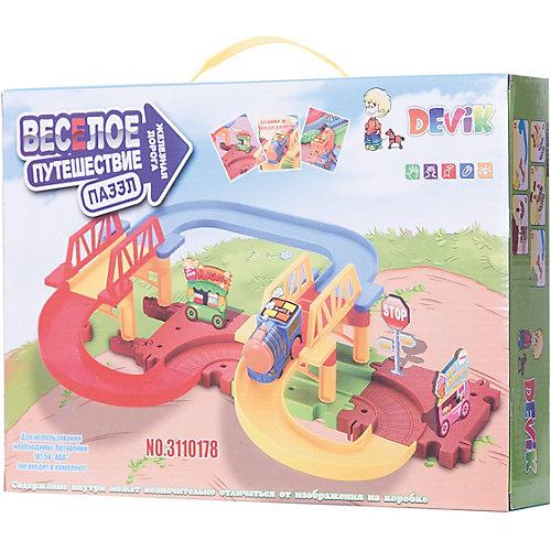 Железная дорога Devik Toys с поездом от Devik Toys