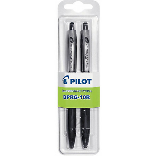 Шариковые ручки Pilot 0,7 мм 2 шт, чёрные от Pilot