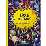 """Книжка с картинками """"Найди, узнай, покажи"""" Весь космос"""