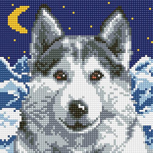 Алмазная мозаика Белоснежка «Вожак», 20х20 см от Белоснежка